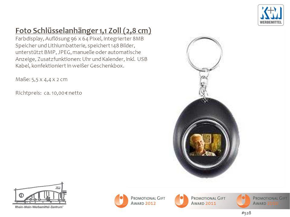 Foto Schlüsselanhänger 1,1 Zoll (2,8 cm)