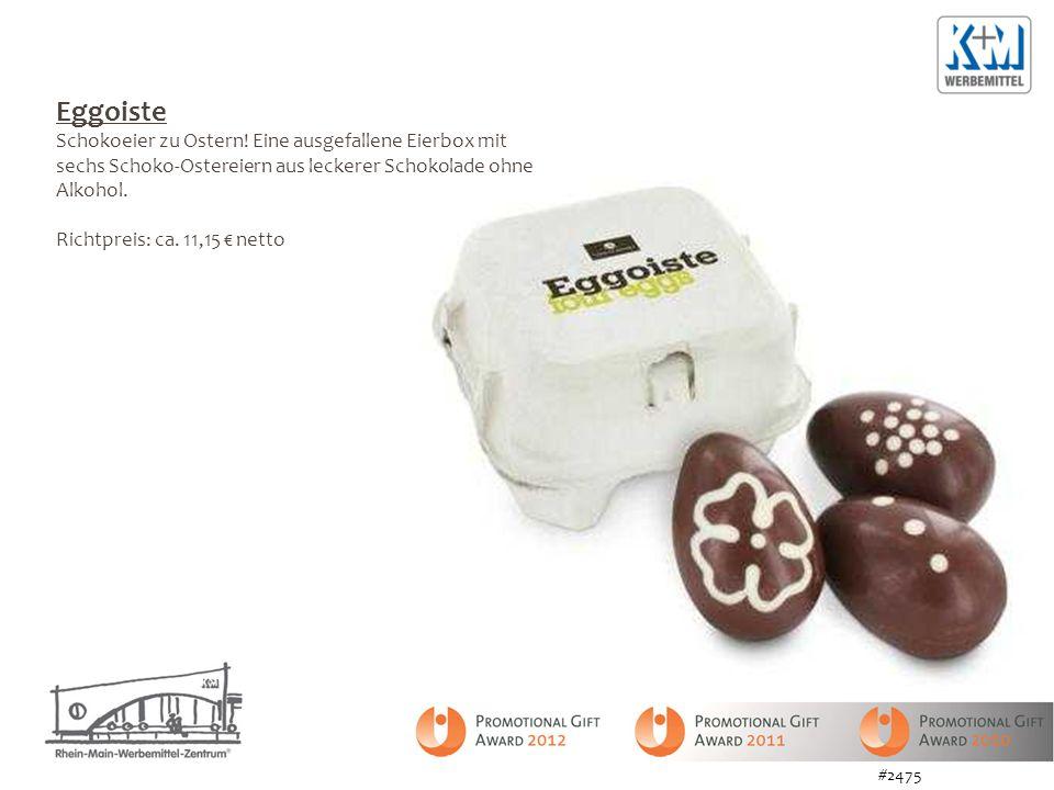 Eggoiste Schokoeier zu Ostern