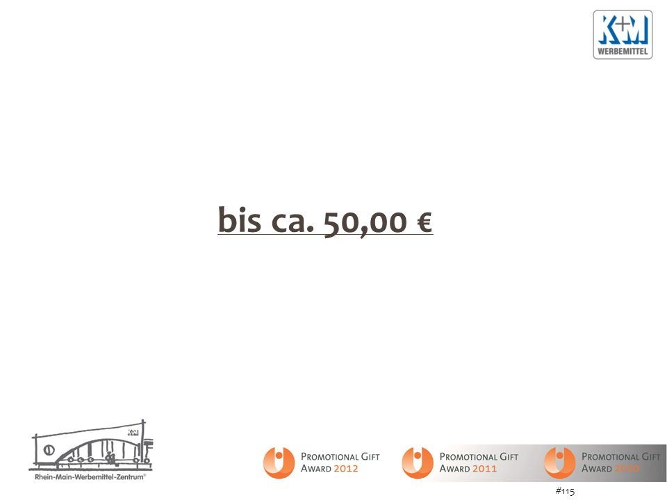 bis ca. 50,00 € #115