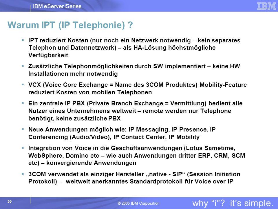 Warum IPT (IP Telephonie)