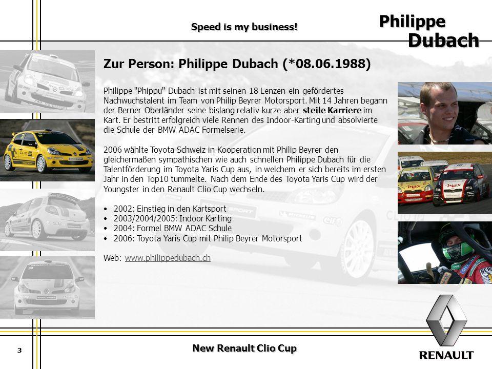 Philippe Dubach Zur Person: Philippe Dubach (*08.06.1988)