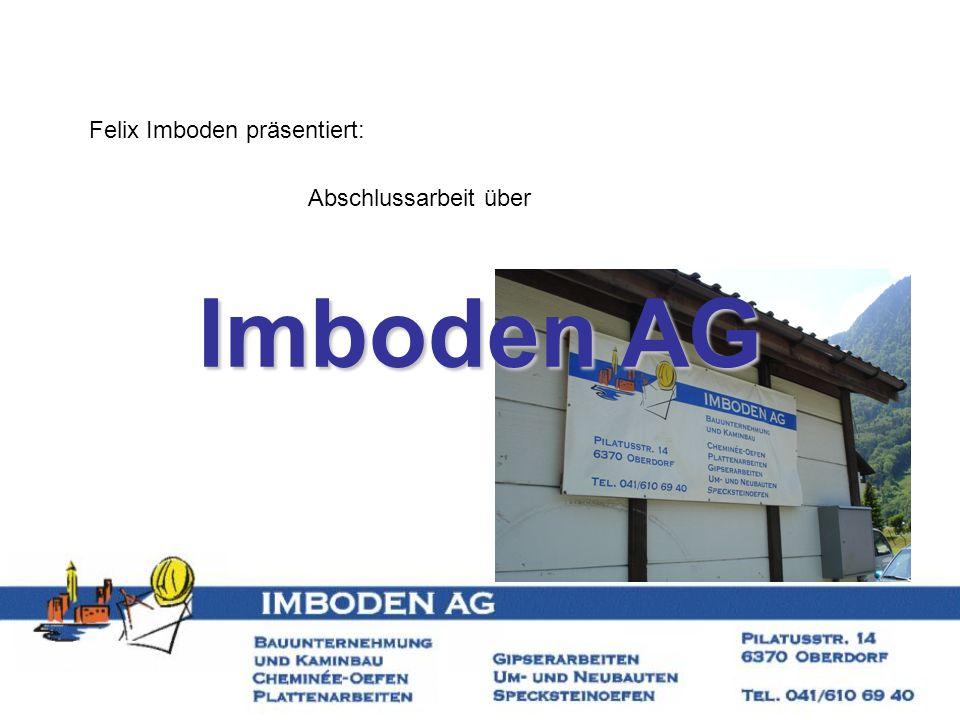 Felix Imboden präsentiert: