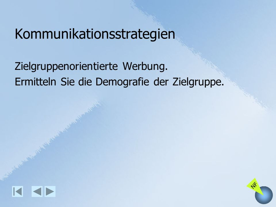 Kommunikationsstrategien