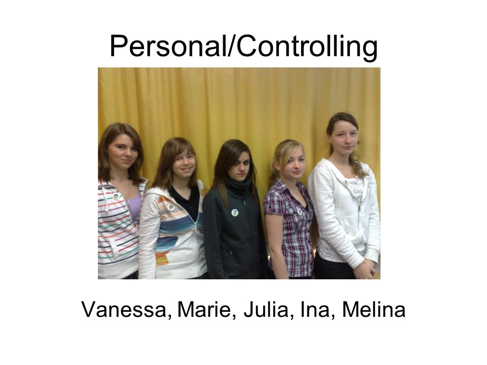 Personal/Controlling