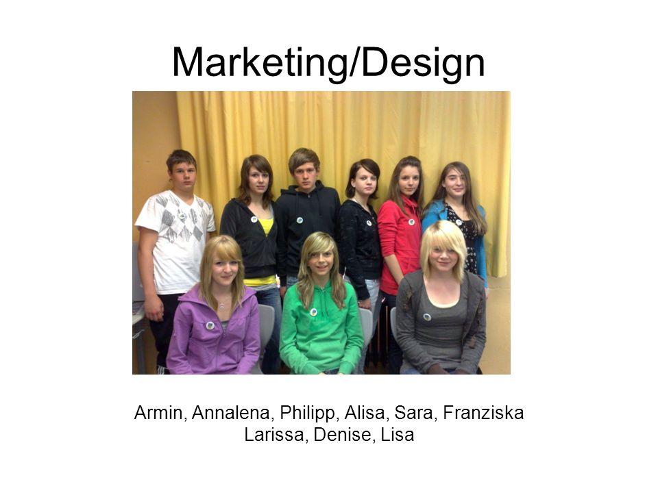 Armin, Annalena, Philipp, Alisa, Sara, Franziska