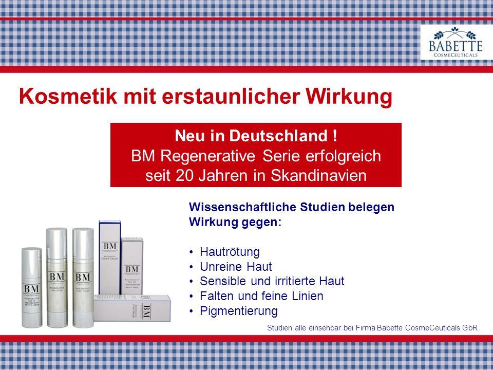 BM Regenerative Serie erfolgreich seit 20 Jahren in Skandinavien