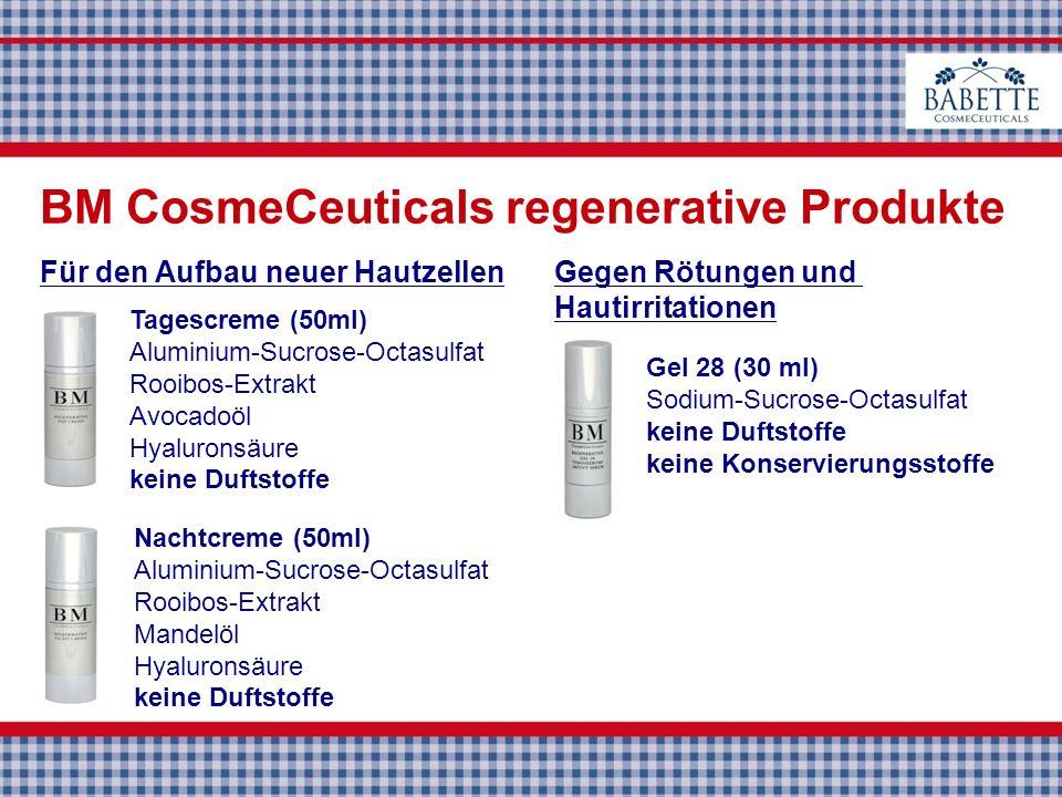 BM CosmeCeuticals regenerative Produkte