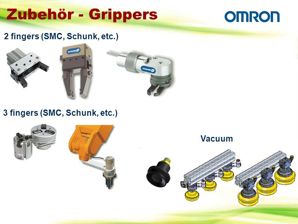 Zubehör - Grippers 2 fingers (SMC, Schunk, etc.)