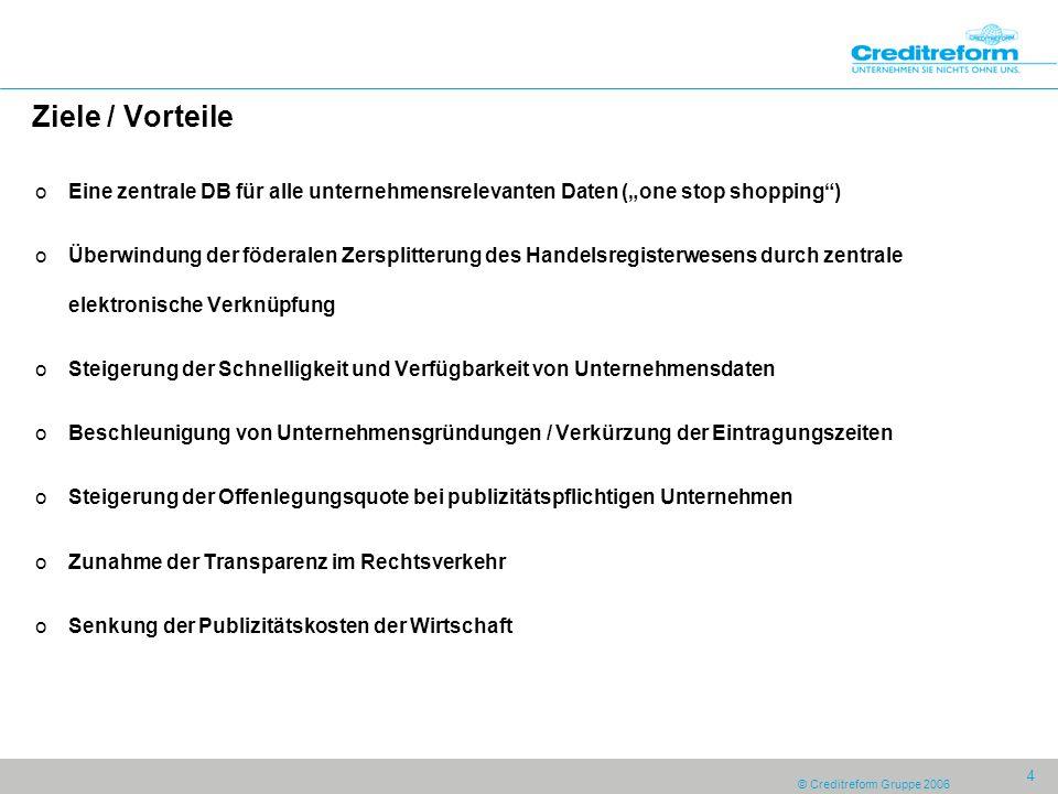 """Ziele / Vorteile Eine zentrale DB für alle unternehmensrelevanten Daten (""""one stop shopping )"""