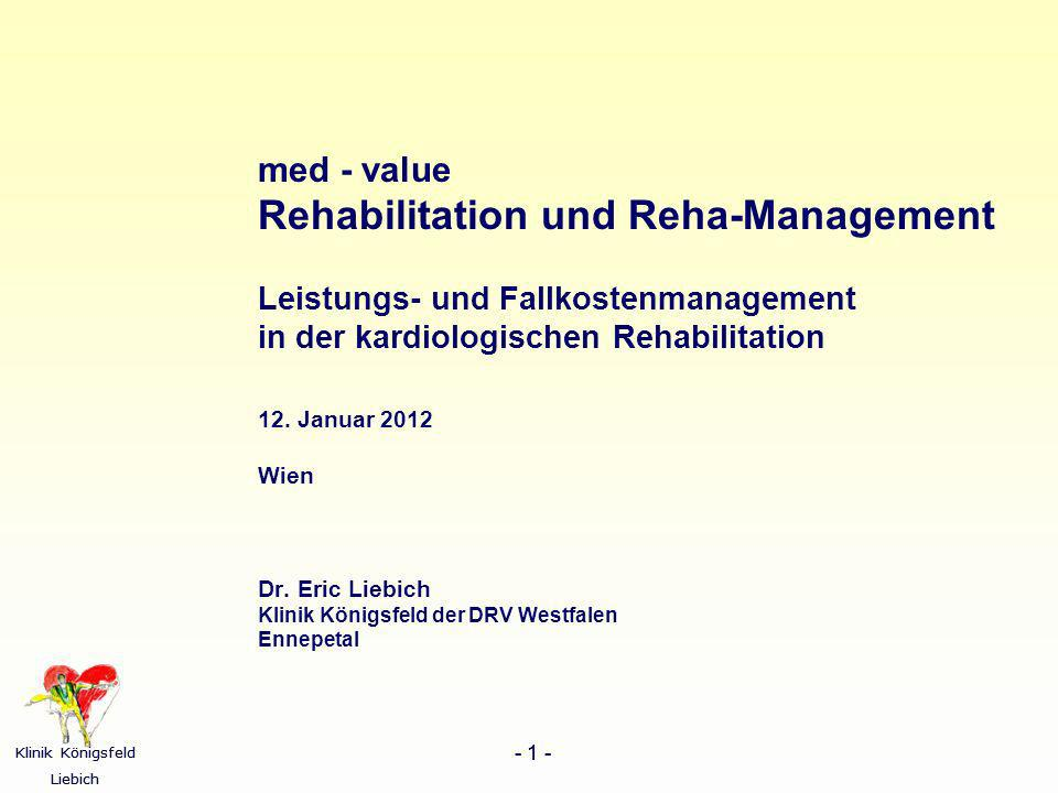Rehabilitation und Reha-Management