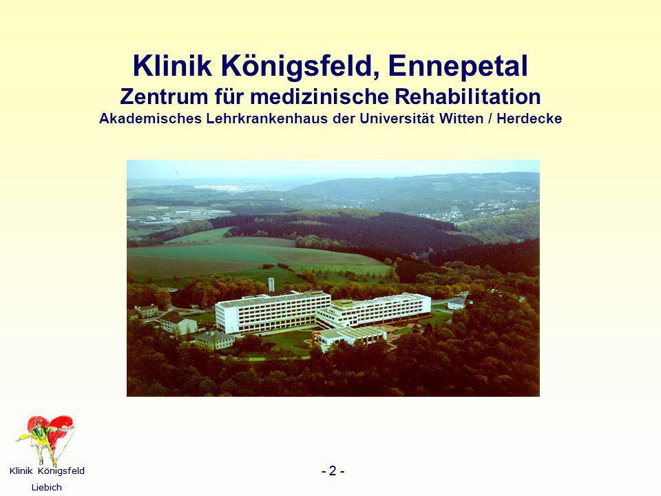 Klinik Königsfeld, Ennepetal