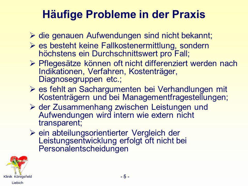 Häufige Probleme in der Praxis