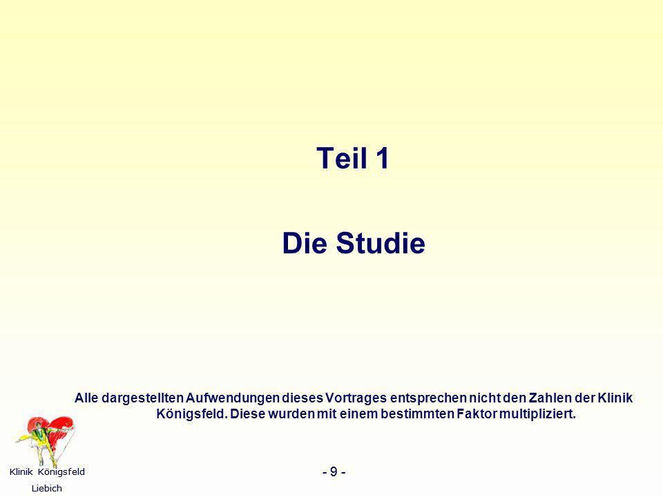 Teil 1 Die Studie.