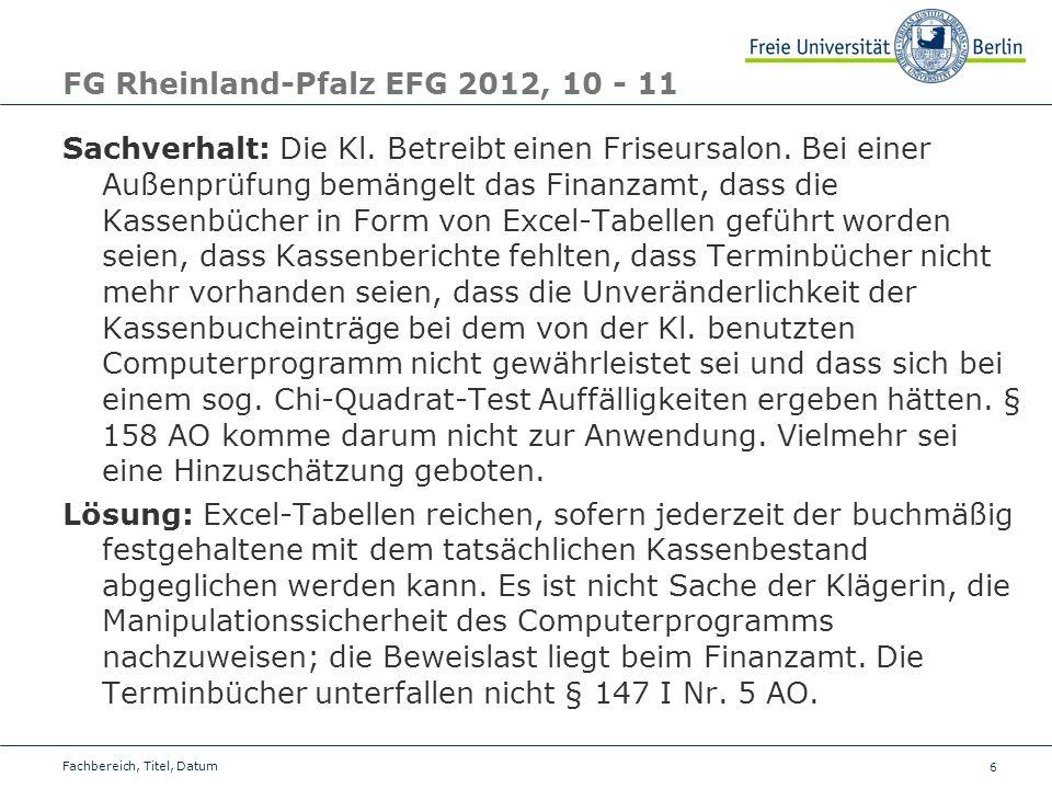 FG Rheinland-Pfalz EFG 2012, 10 - 11