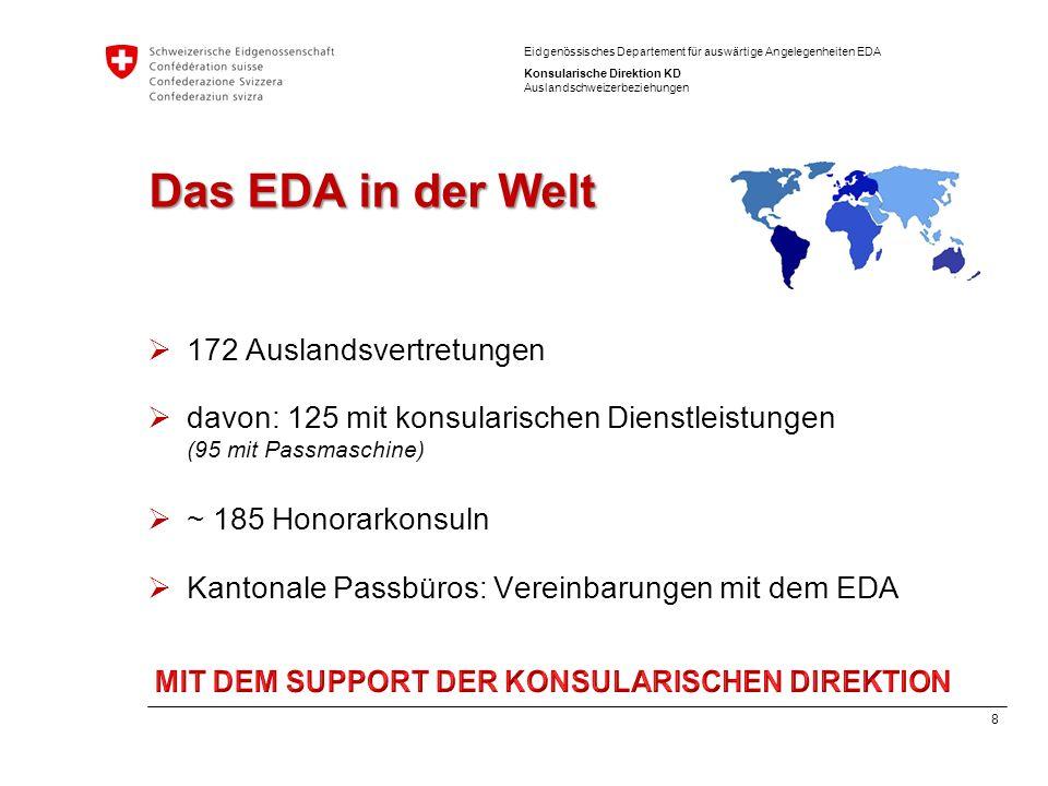 MIT DEM SUPPORT DER KONSULARISCHEN DIREKTION