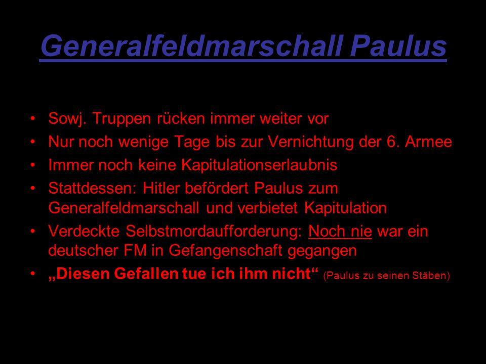 Generalfeldmarschall Paulus