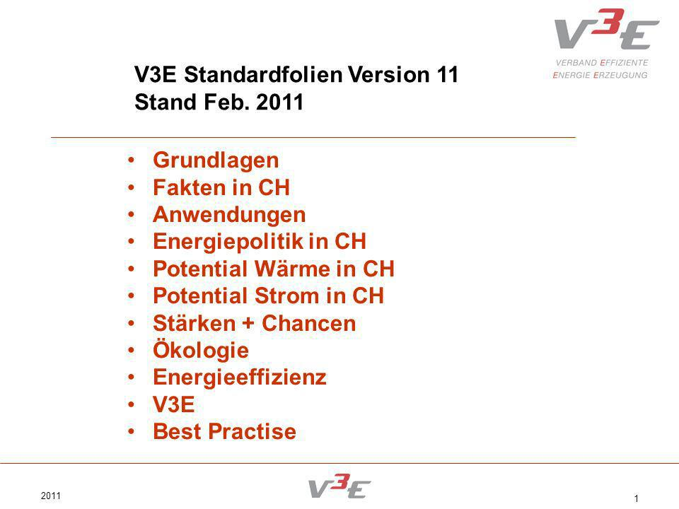 V3E Standardfolien Version 11 Stand Feb. 2011