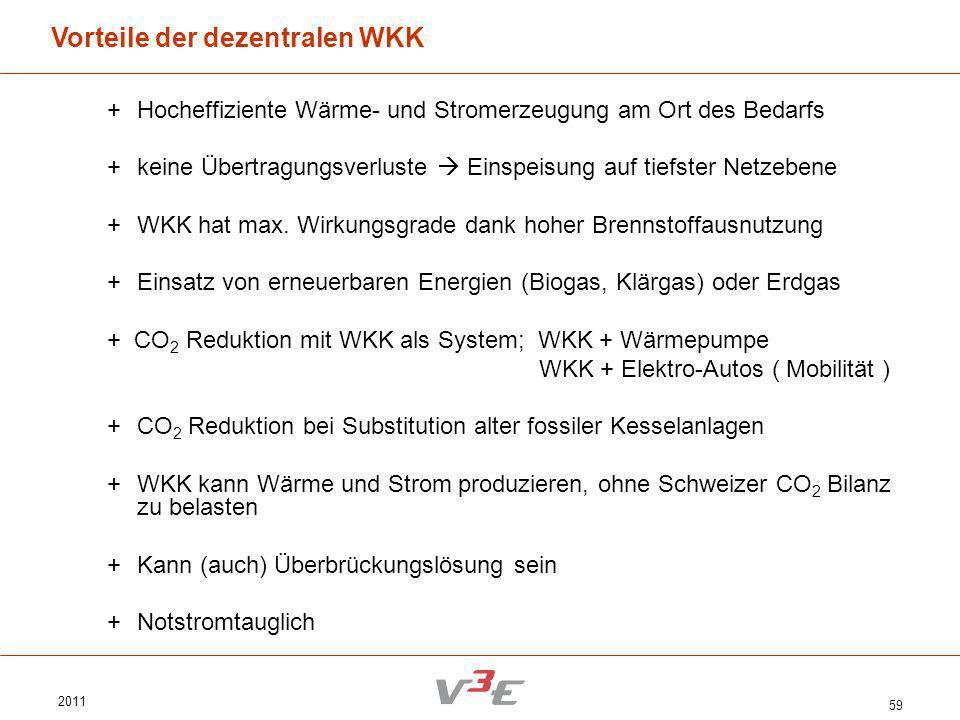 Vorteile der dezentralen WKK