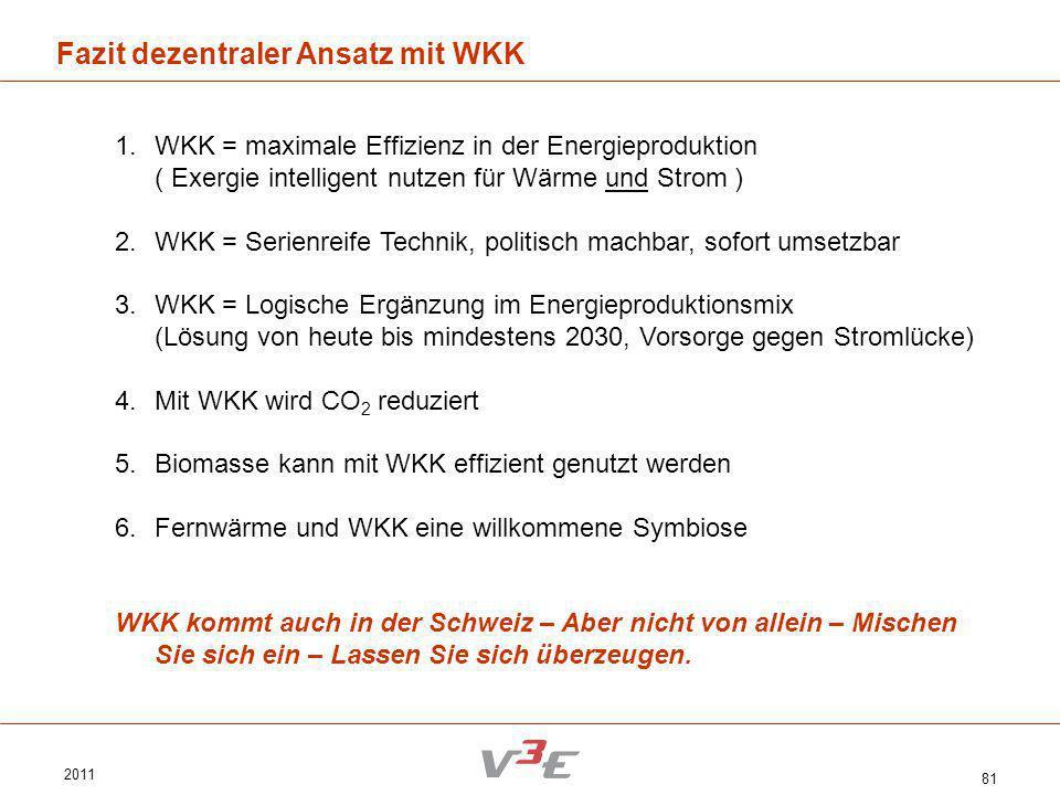 Fazit dezentraler Ansatz mit WKK