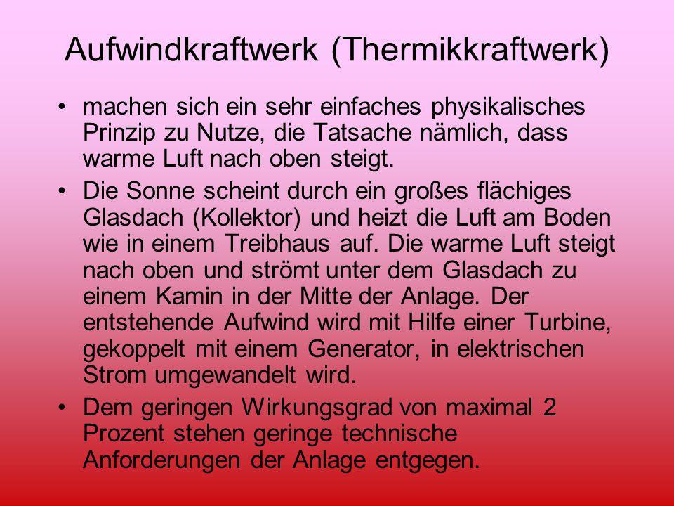 Aufwindkraftwerk (Thermikkraftwerk)