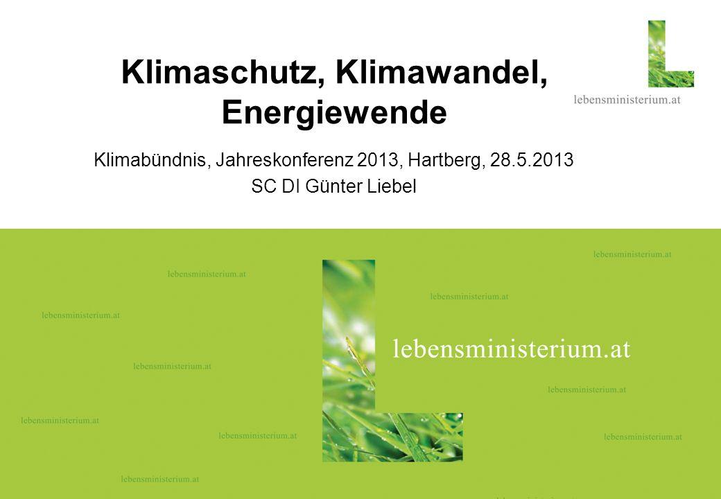 Klimaschutz, Klimawandel, Energiewende