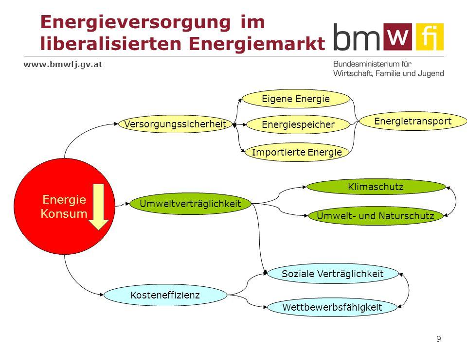 Energieversorgung im liberalisierten Energiemarkt