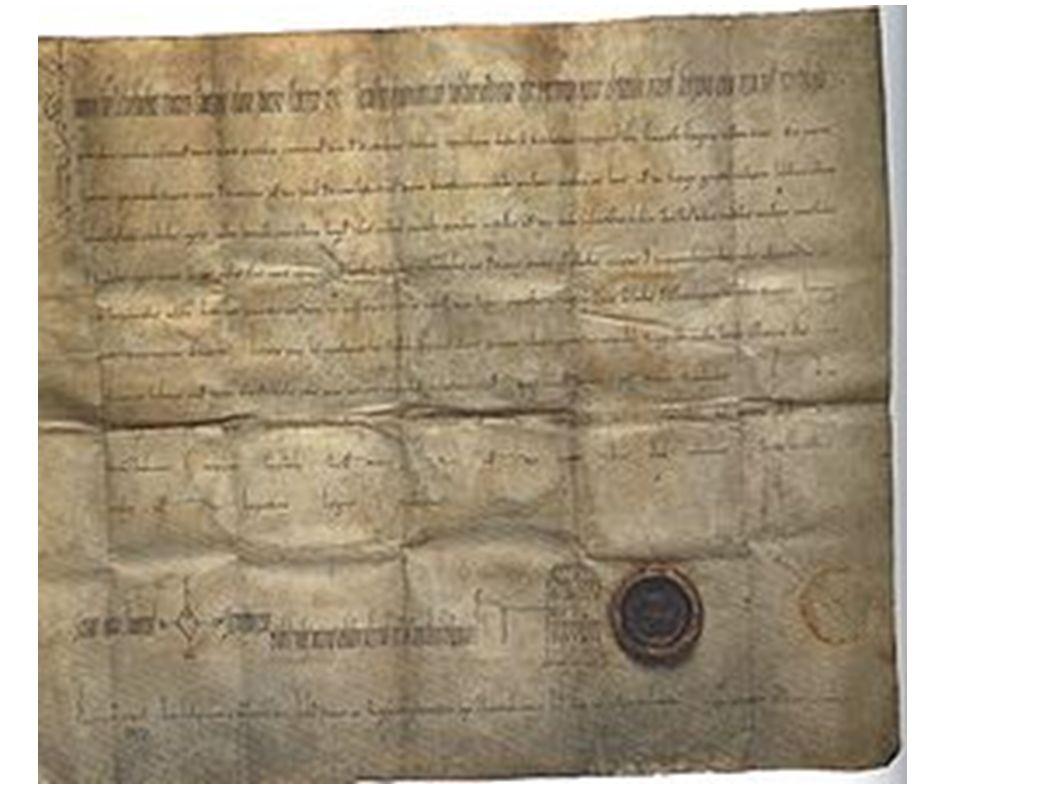 Königsurkunde – Schenkung an Kloster Fulda aus 912
