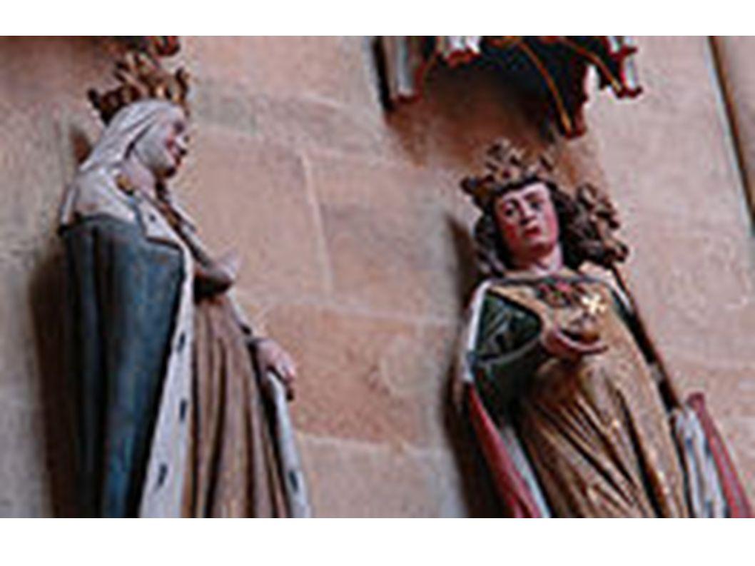 Otto I. neben Adelheid im Meißner Dom