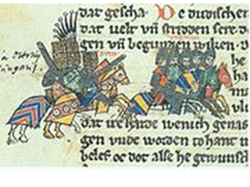 Die Lechfeldschlacht in der sächsischen Weltchronik 1270