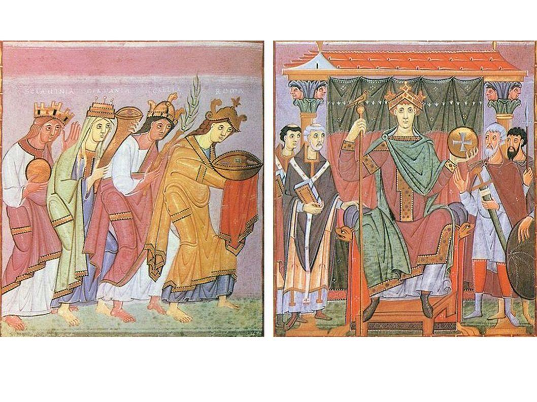 Aus dem Evangeliar Ottos III