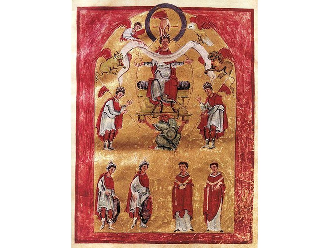 Das Herrscherbild des Aachener Liuthar-Evangeliars, eine Gabe Ottos III.