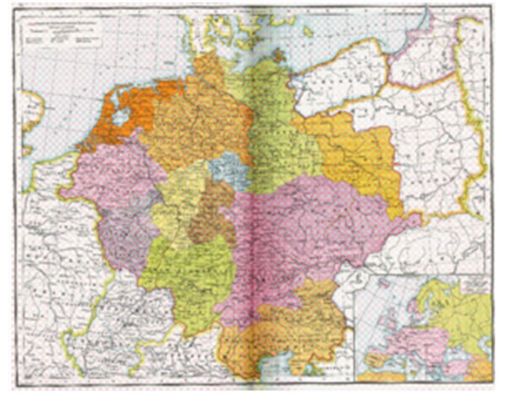 Das hl. Röm. Reich um 1000