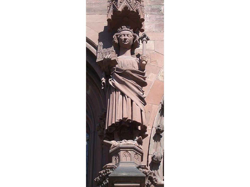 Heinrich II. als Figur am Basler Münster