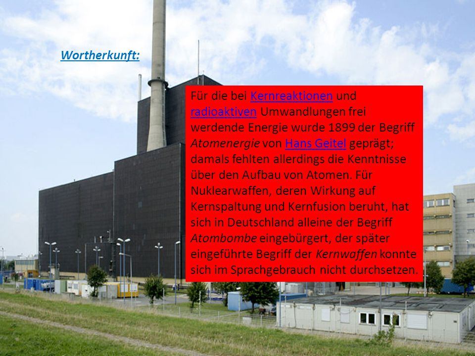 Wortherkunft: