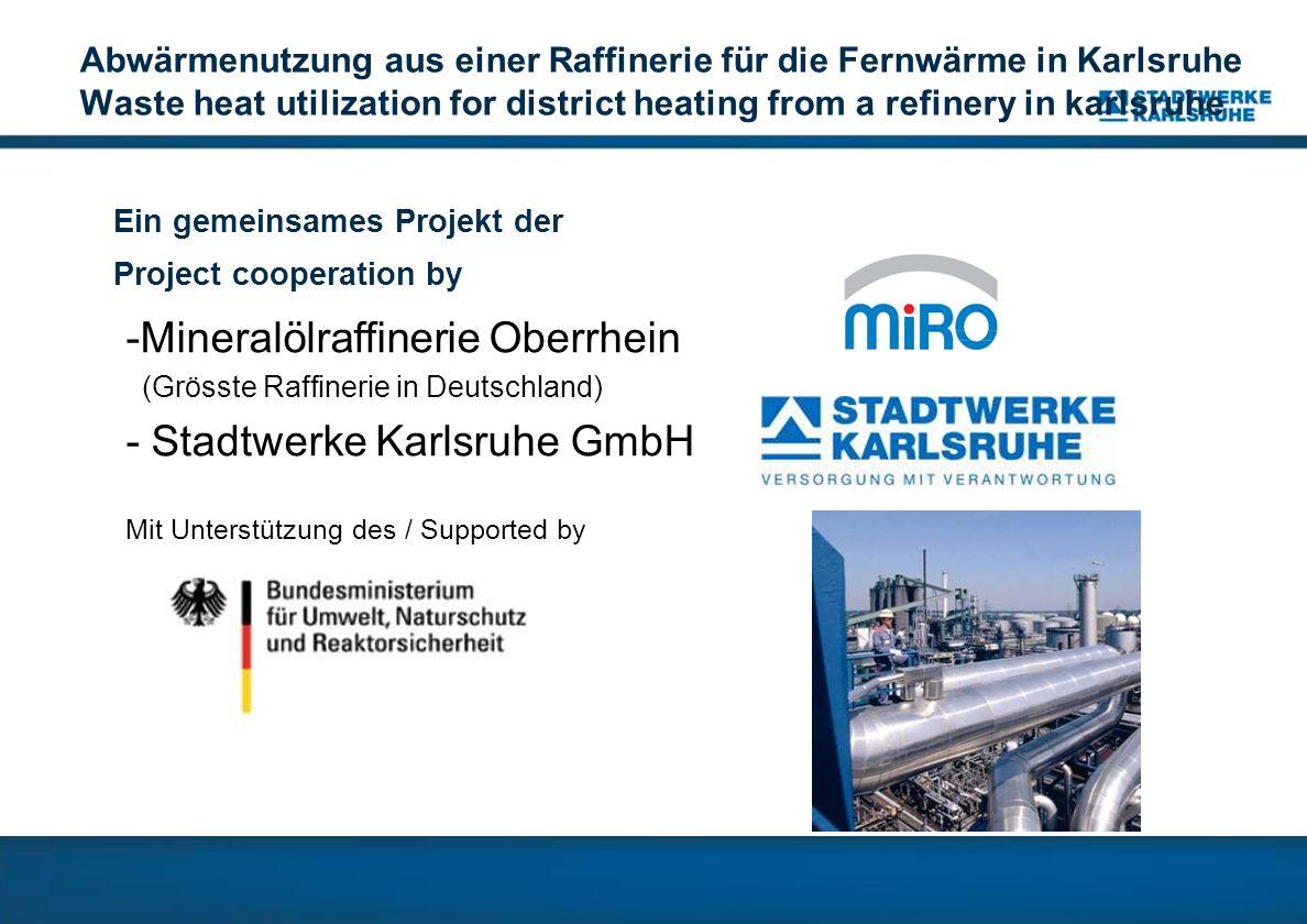 Mineralölraffinerie Oberrhein - Stadtwerke Karlsruhe GmbH