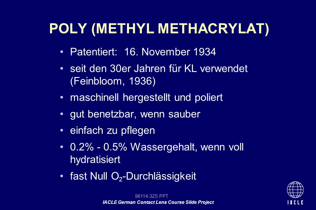 POLY (METHYL METHACRYLAT)
