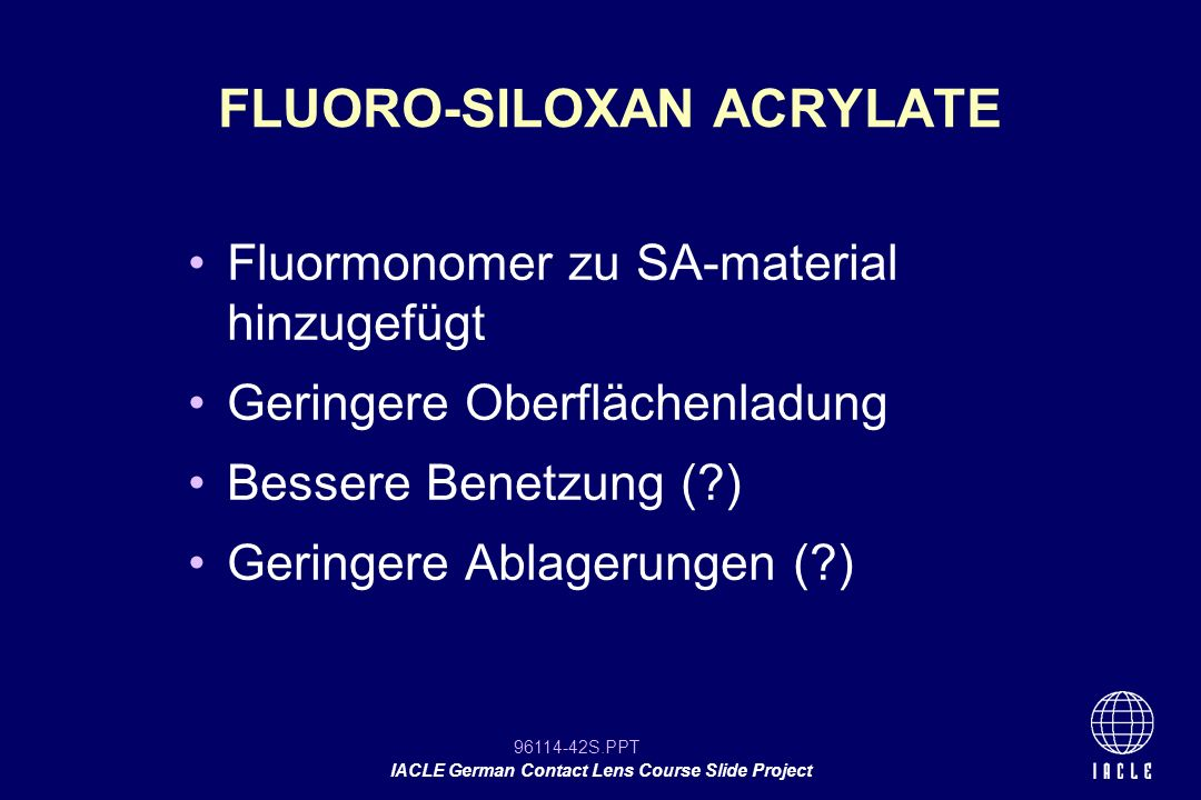 FLUORO-SILOXAN ACRYLATE