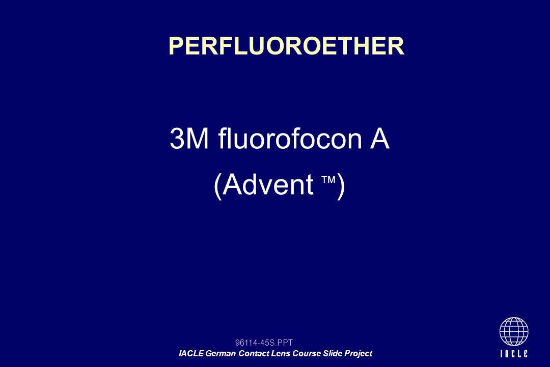 PERFLUOROETHER 3M fluorofocon A (Advent TM) 12 12
