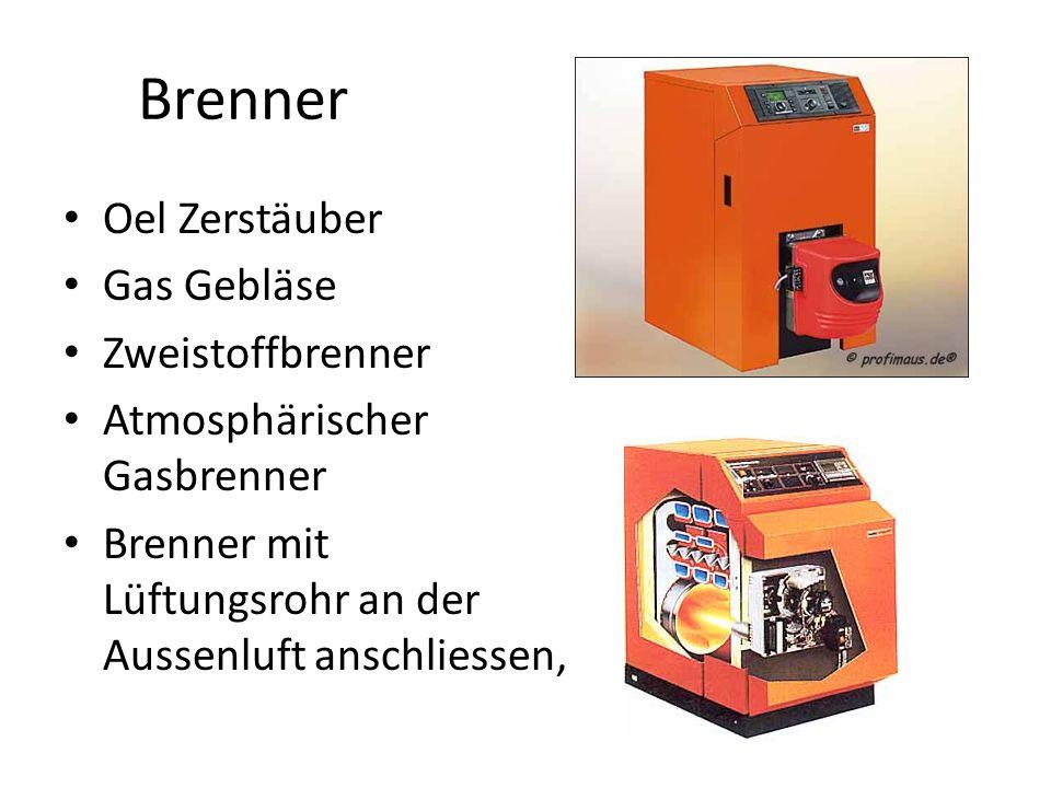 Brenner Oel Zerstäuber Gas Gebläse Zweistoffbrenner