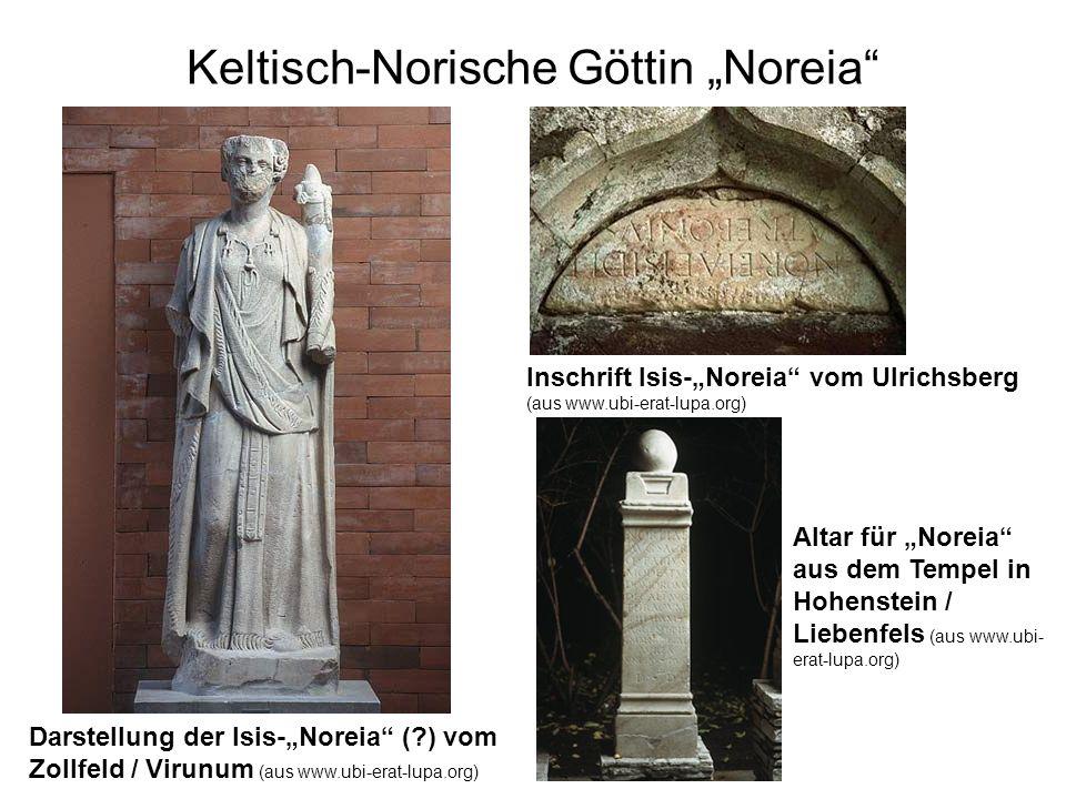 "Keltisch-Norische Göttin ""Noreia"