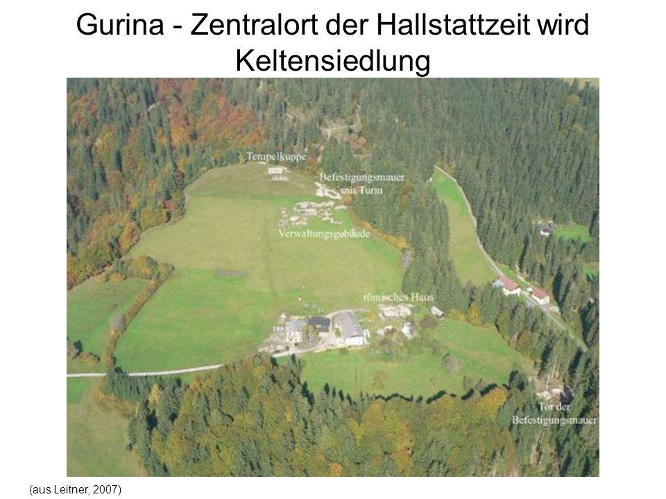 Gurina - Zentralort der Hallstattzeit wird Keltensiedlung