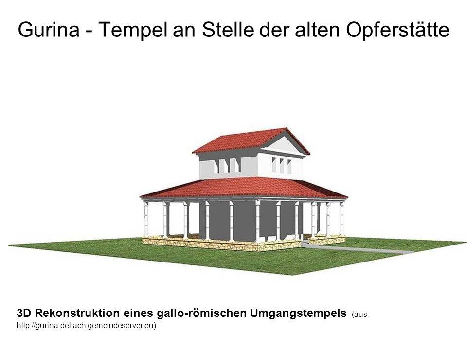 Gurina - Tempel an Stelle der alten Opferstätte