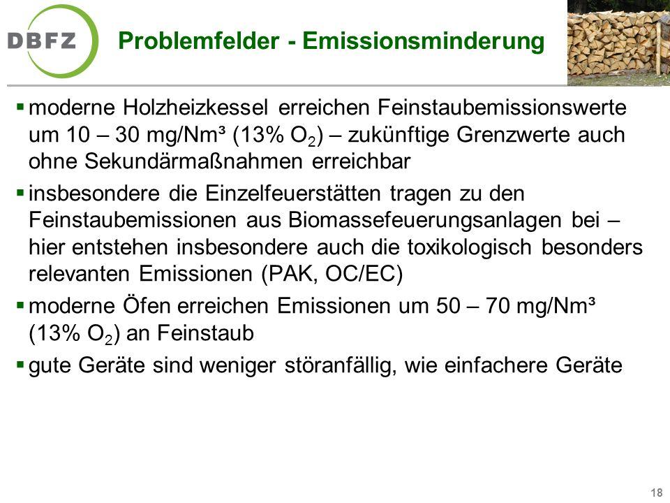 Problemfelder - Emissionsminderung