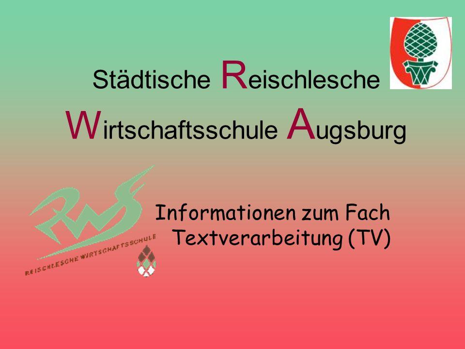 Städtische Reischlesche Wirtschaftsschule Augsburg