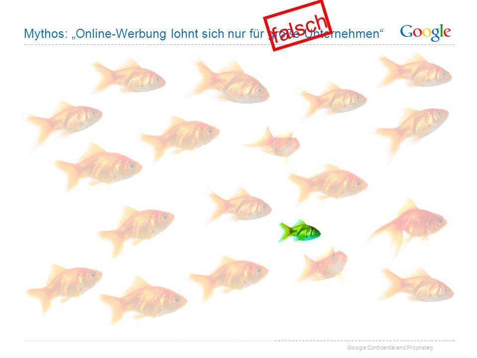 """falsch Mythos: """"Online-Werbung lohnt sich nur für große Unternehmen"""