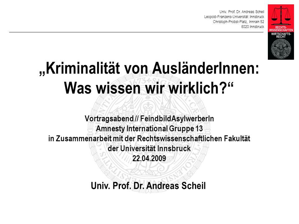 Univ. Prof. Dr. Andreas Scheil