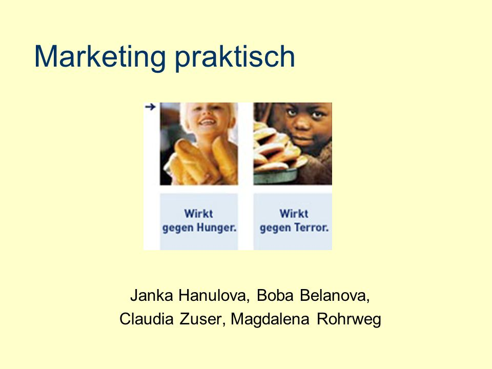 Marketing praktisch Janka Hanulova, Boba Belanova,