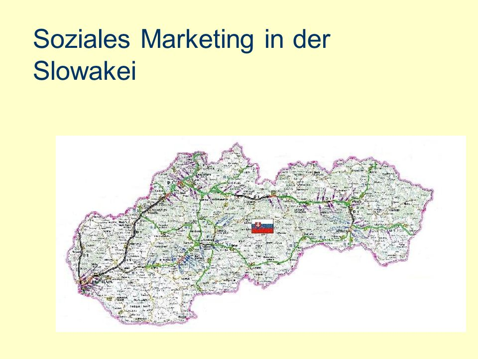 Soziales Marketing in der Slowakei