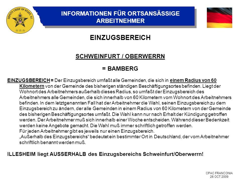 SCHWEINFURT / OBERWERRN