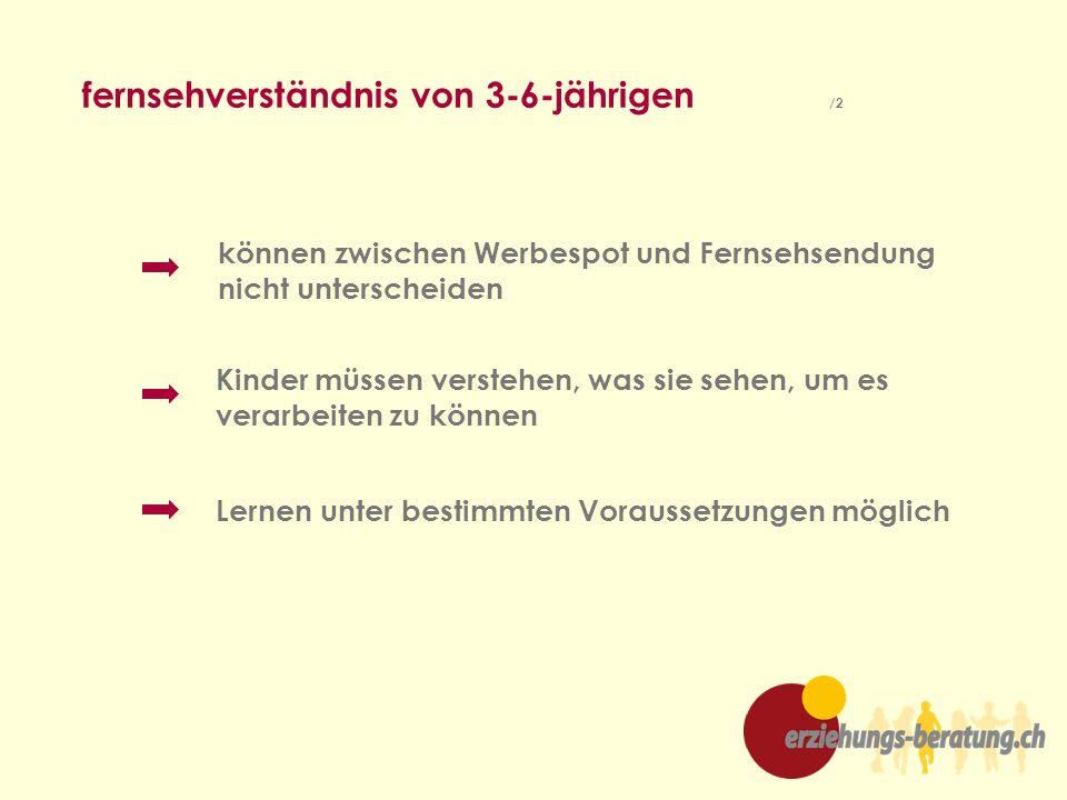 fernsehverständnis von 3-6-jährigen /2